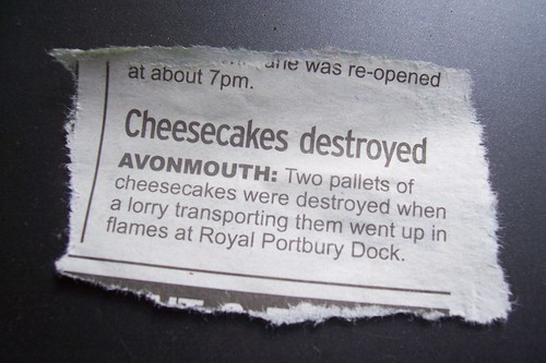 Cheesecakes Destroyed