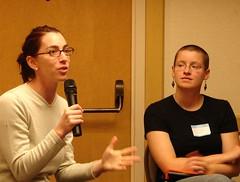 sign language(0.0), conversation(1.0), person(1.0), adult(1.0),