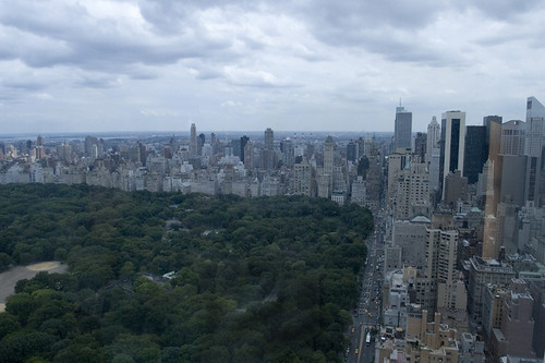 View From The Columbus Circle Apartment, NYC