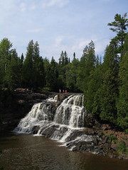 High Falls at Gooseberry State Park