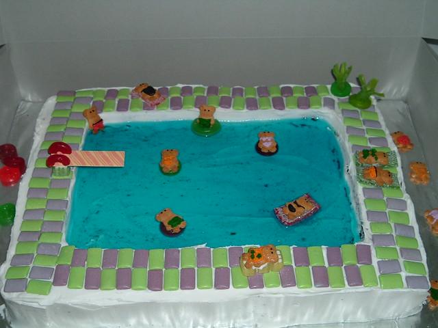 Swimming Pool Cake Ideas : Swimming pool cake flickr photo sharing