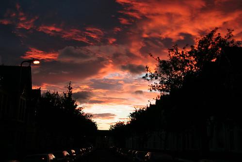 Beautiful Sky over Cardiff