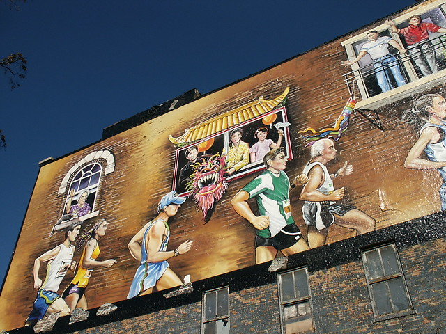 Chicago murals an album on flickr for Mural in chicago illinois