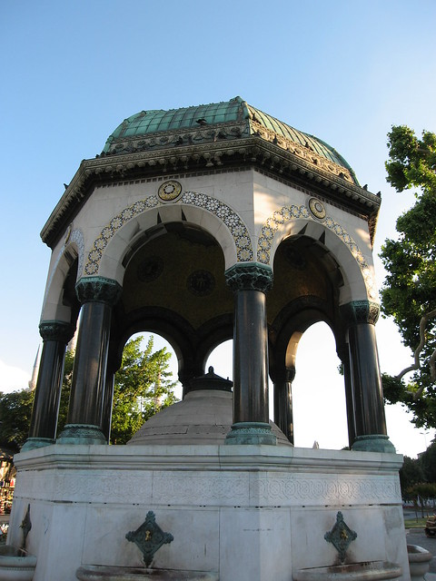 Kaiser Wilhelm II Fountain  This fountain was presented ...