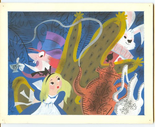 Conceptual art for Disney's Alice in Wonderland