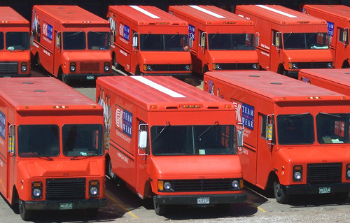 Red Fleet Trucks