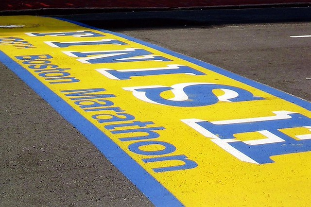 Boston: Boston Marathon Finish Line