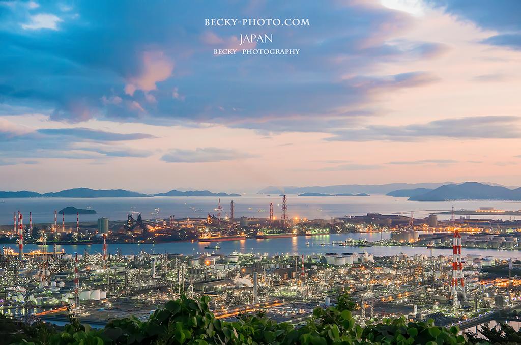 鷲羽山スカイライン 水島展望台, 岡山県倉敷市