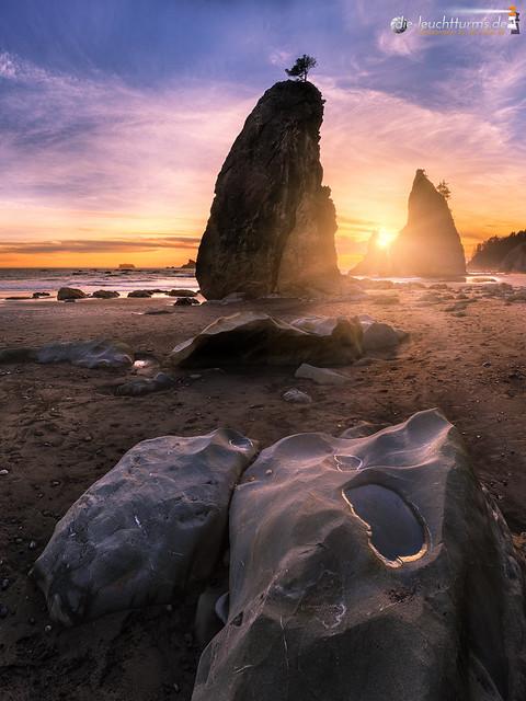 Low tide on Split Rocks #3