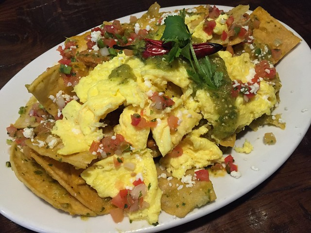 Chilaquiles verdes - Northside Cafe