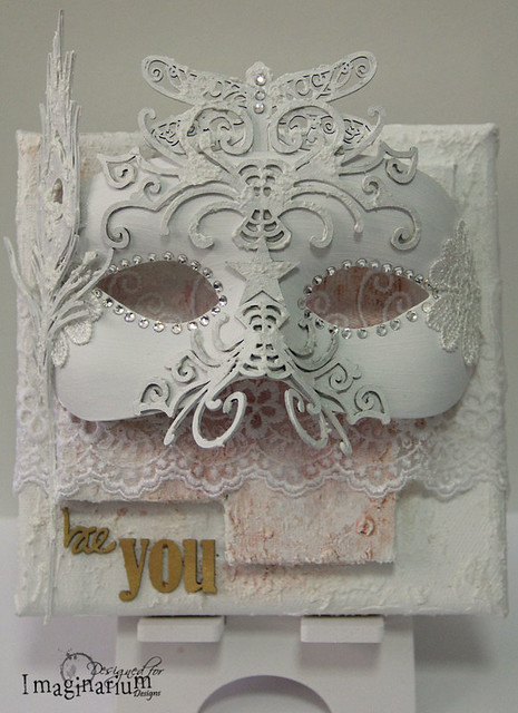 """Be You"" Mask Canvas"