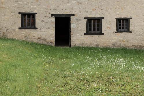 Maison natale de Claude Gellée, dit Le Lorrain (1600 - Rome, 1682) à Chamagne (Vosges, France)