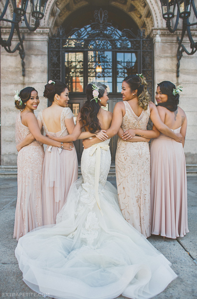 boston library wedding bhldn lazaro