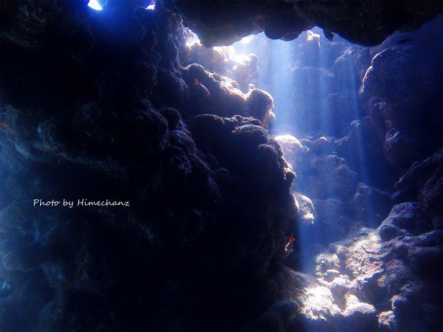 洞窟の光がスゴかった!!!