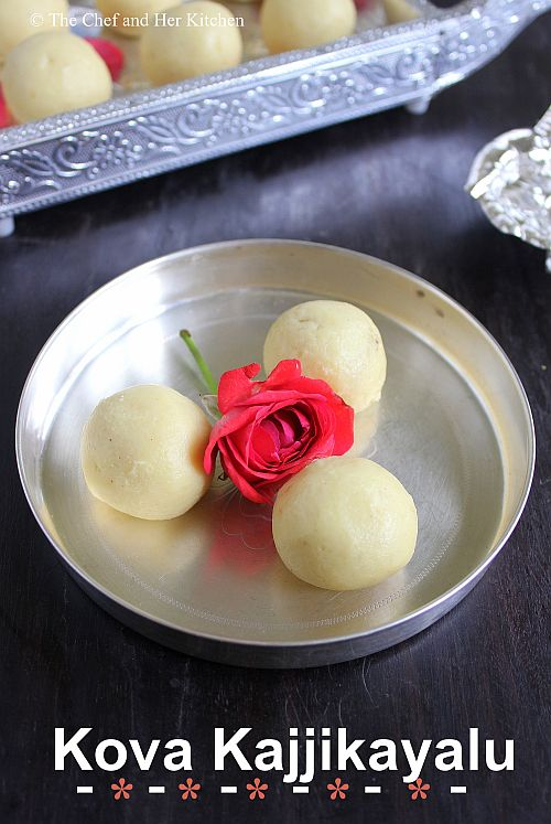 Kova Kobbari Kajjikayalu | Kova Kobbari Laddu | Stuffed Koa Laddu | Diwali Sweets Recipes