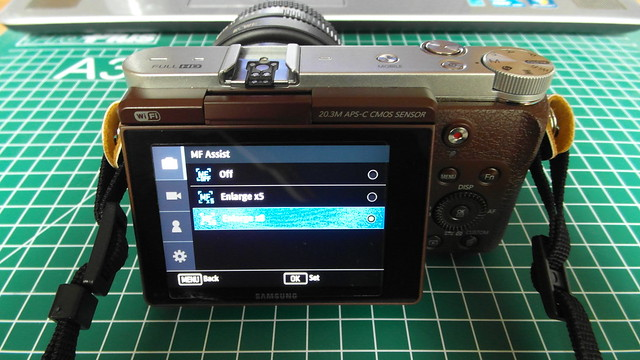 8) Setting Manual Focus Assist to x8