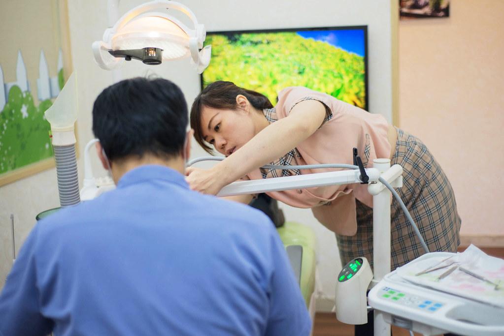 黃牙退散!到高雄人本自然牙醫診所做牙齒冷光美白還我一口自信白牙 (20)