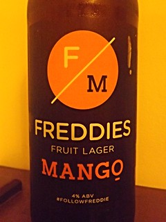 Premium Beverage Refreshments, Freddies Fruit Lager with Mango, England
