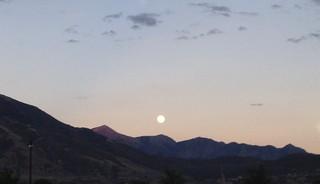 Moon over Draper