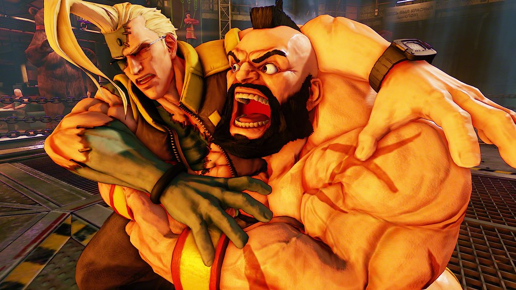 Street Fighter V, Zangief