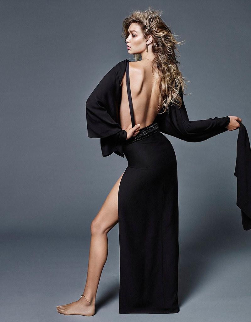 Джиджи Хадид — Фотосессия для «Vogue» NL 2015 – 6