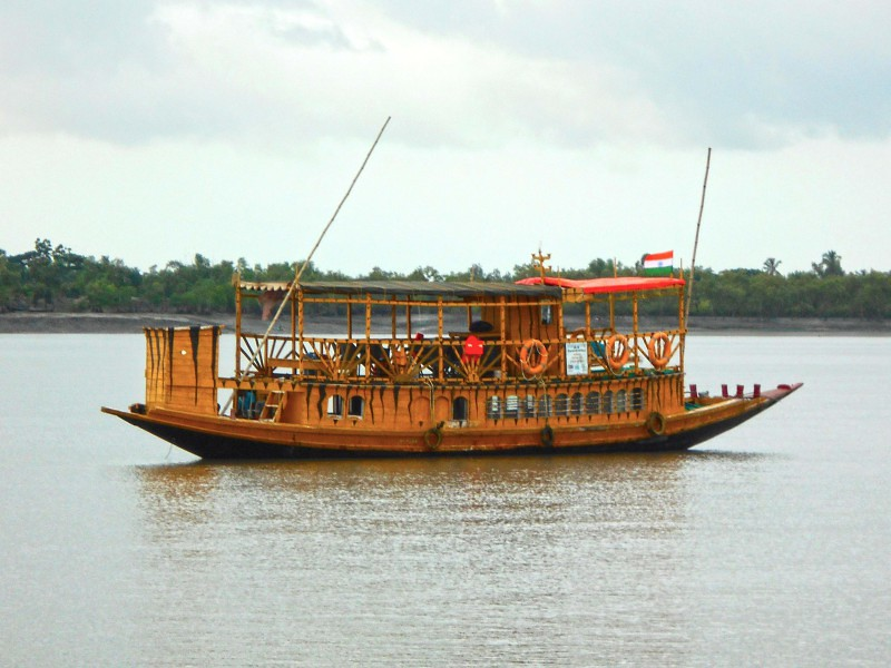 Motor Boat of SHER India - Sundarban, India