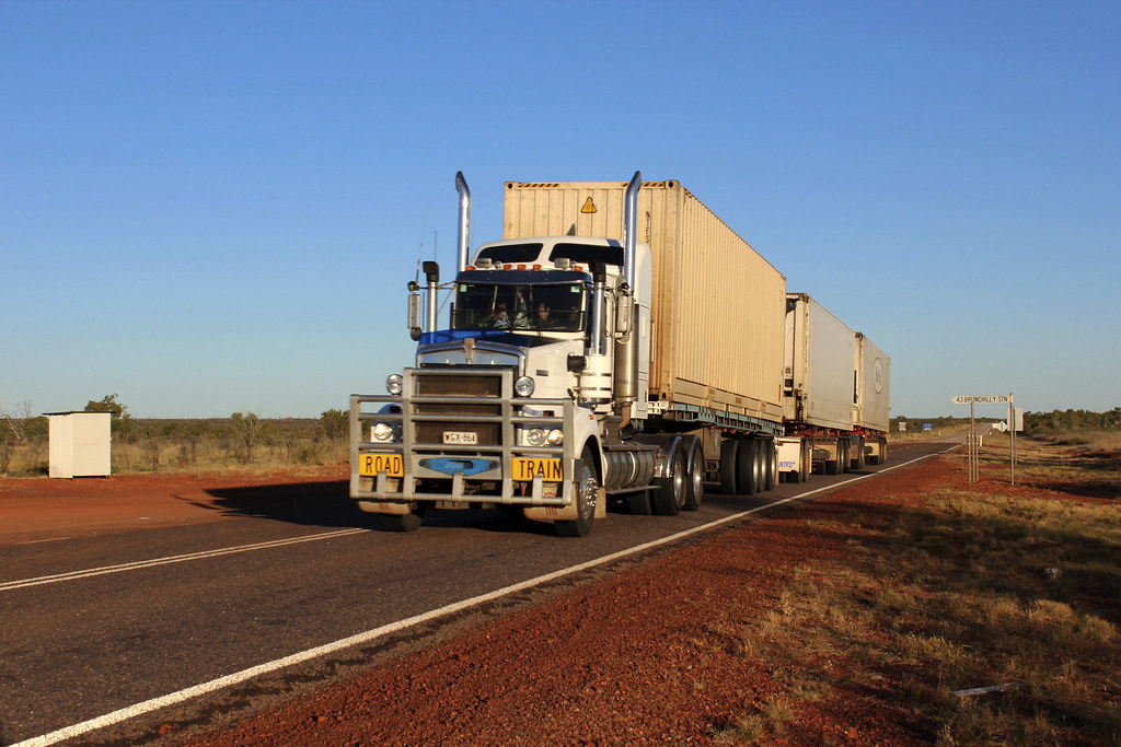road train i Australien