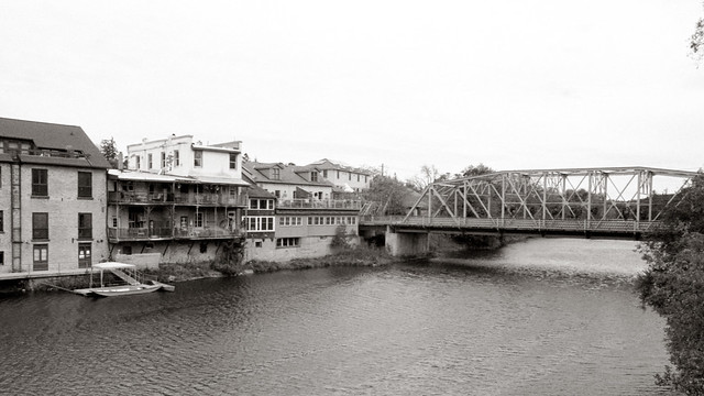 The Main Bridge Into Town