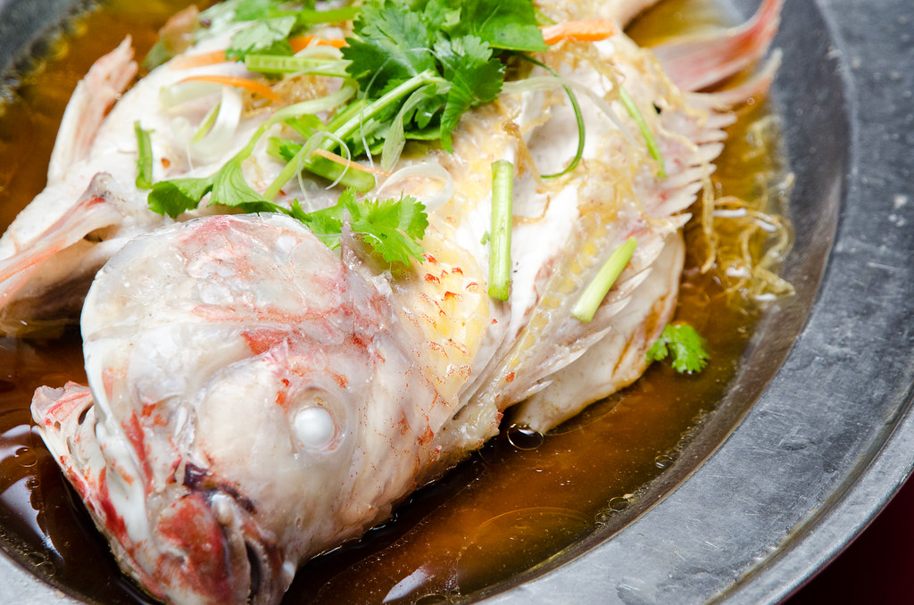 Tilapia Fish at Kedai Makanan Seremban (芙蓉烧蟹海鲜村)