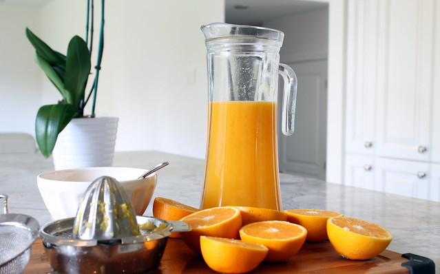 Healthy Orange Juice Homemade fresh pressed organic 2