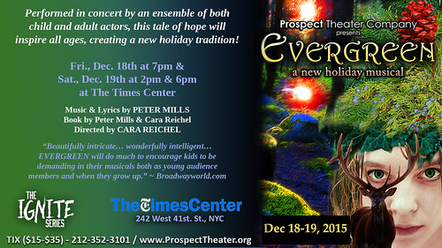 EVERGREEN Concert Graphic With Times Logo