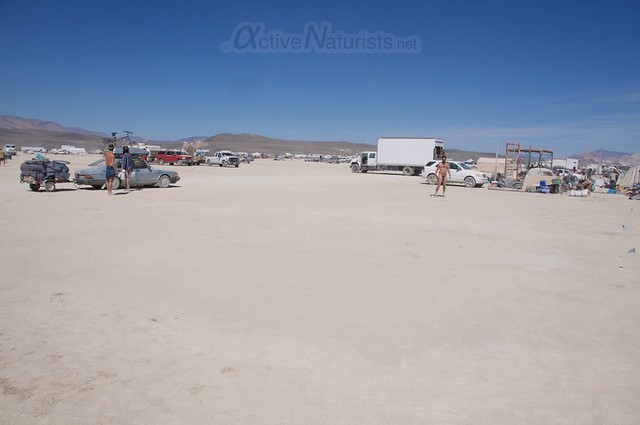view 0007 Burning Man 2015, Black Rock City, Nevada, USA