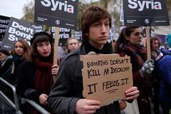 Bombing doesn't kill an ideology - It feeds it.
