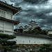Taifun Weather at Himeji Castle by Alexander.Weichsel.Photography