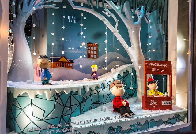 Macy's Holiday Window Display 2015
