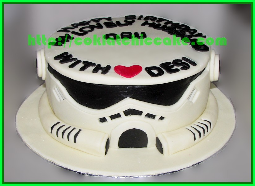 Cake Starwars Stormtropper