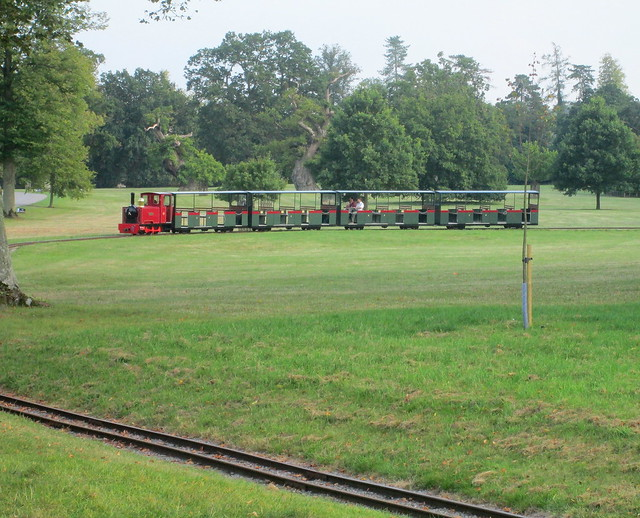 Miniature Railway Train, Blenheim Palace