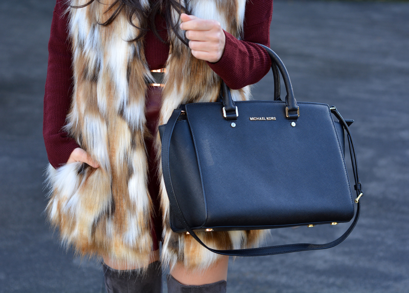 zara_ootd_highboots_burdeos_burgundy_vest_michael kors_09