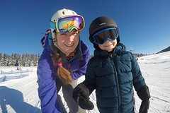 Kterak jsem se dostala ke svému dream jobu lyžařské instruktorky