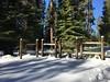 Snowshoeing @ Union Valley Reservoir