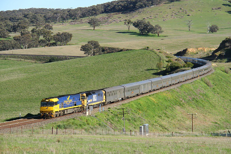 Spring time Indian Pacific by David Arnold