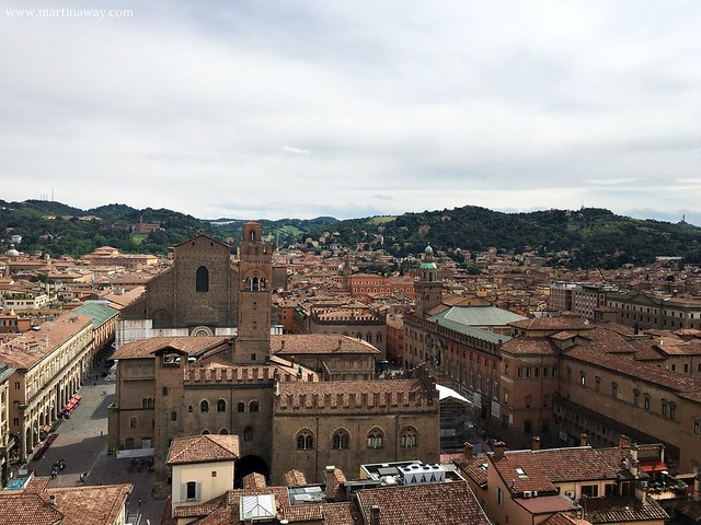 Vista dalla Cattedrale di San Pietro
