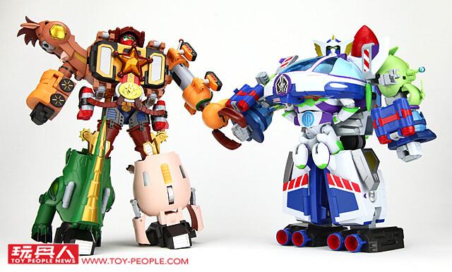 今年的紅包錢就買這個!超合金《玩具總動員》【胡迪機器人 警長之星】與【巴斯光年 太空騎警機器人】開箱報告