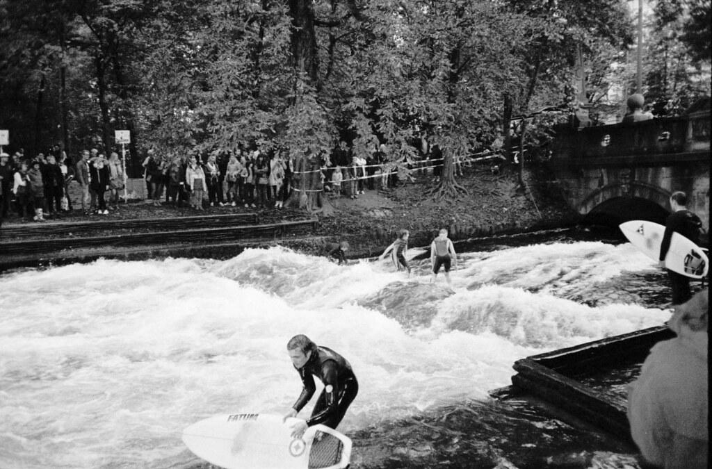 eisbach surfen