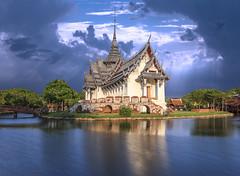Ancient city temple