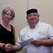 Susan and Winning Chef Alan Fitzmauric