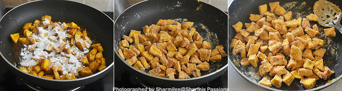 How to make Sharkara Upperi - Step4