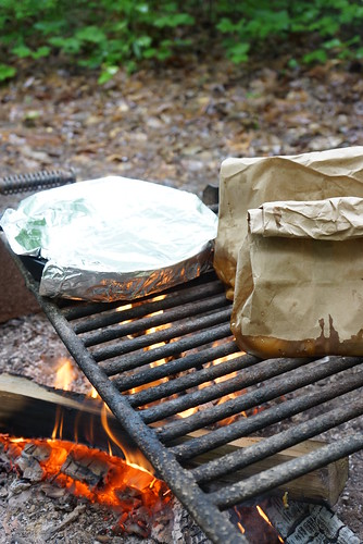 camp breakfast in the bag