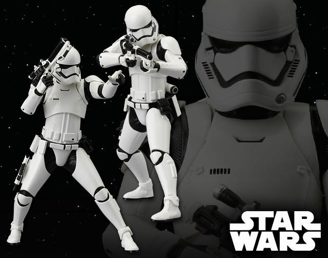 壽屋 ARTFX+ 系列【帝國暴風兵雙人組合包】First Order Stormtrooper 1/10 比例