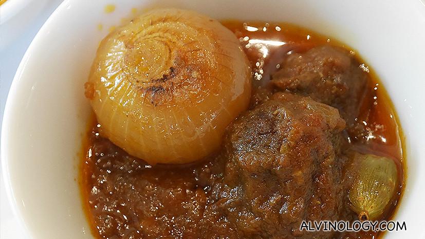 Uppu Kari - lamb curry